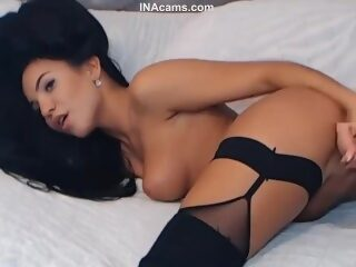 Watch Gorgeous Babe with Perfect Body and Thick Black Hairon largeporntube.asia