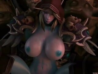 Watch Sylvanas Part 1 SFM [INSIGNIOUS]on largeporntube.asia