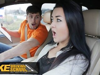 Watch Fake Driving School Zuzu Sweet Gets Spunk in Mouth For Her Licenceon largeporntube.asia