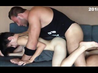 Watch Homemade Porn Cooney Sex - young bodybuilder Andrey Bulatkin licks his girlon largeporntube.asia