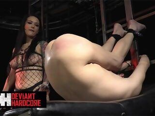 Watch DeviantHardcore - Mistress Katrina Jade Fucks Man Hard With A Big Dildoon largeporntube.asia