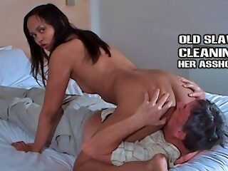 Watch Older slave cleans feet pussy and assholeon largeporntube.asia