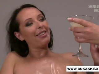 Watch Carolina Vogue Enjoys Cum Cocktail Blow Bang - bukkake.xxxon largeporntube.asia